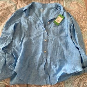 NWT Lilly Pulitzer button down